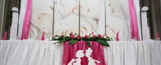 Hochzeit – Weiss/Pink
