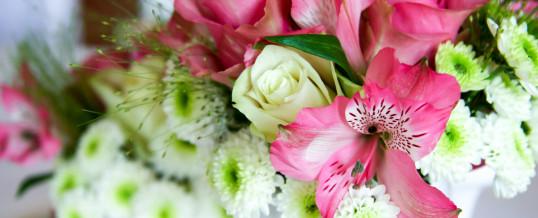 Geburtstagsfeier Weiß/Pink